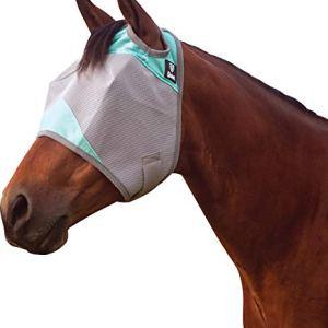 Cashel Company Mint Crusader Horse Fly Mask