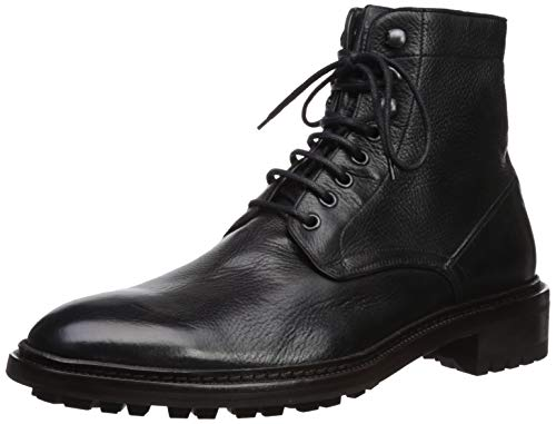 Frye Men's Greyson LACE UP Combat Boot, black, 10 M M US