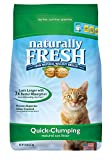 Naturally Fresh Walnut-Based Household Quick-Clumping Cat...