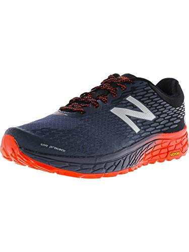 New Balance Men's HIEROV2 Trail Running Shoe, Outer Space/Black/Alpha Orange, 13 D US