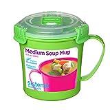 Sistema Microwave Soup Mug, 2.8 Cup, Medium
