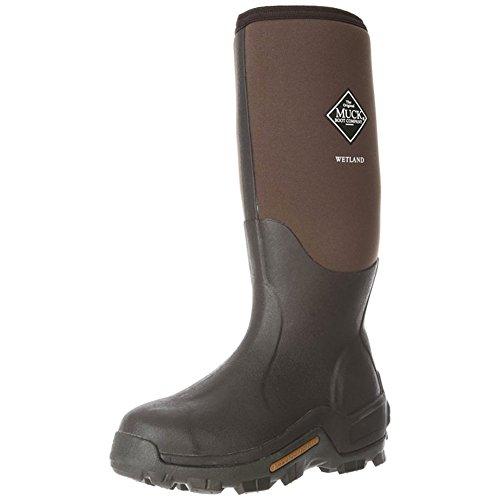 Muck Boot Men's Wetland Waterproof/Work/Insulated/Gardening/Camping 10 M Brown