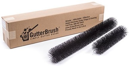 GutterBrush Leaf Gutter Guard Brush