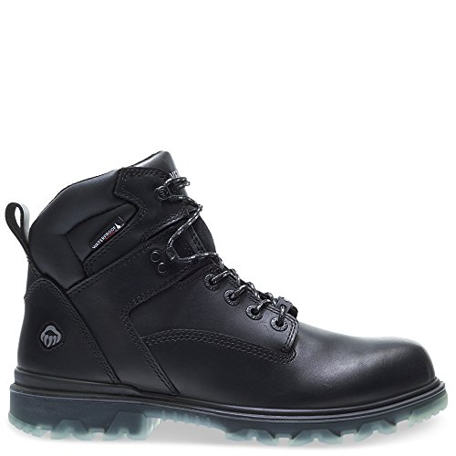 Wolverine Men's I-90 Waterproof Composite-Toe 6' Construction Boot, Black, 11.5 Extra Wide US
