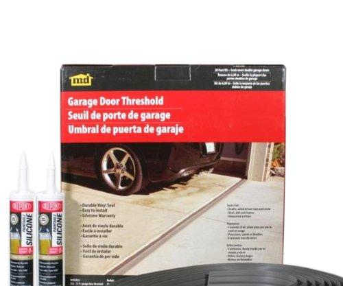 M-D Building Products 50101 Weather-strip Garage Dr 20Ft Bl