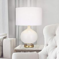 Catalina-Lighting-22693-000-Contemporary-Round-Glass-Table-lamp-with-Acrylic-Base-LED-Bulb-Included-25-White
