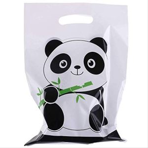 NRYBH Gift Box Gift Wrapping 10pcs/lot Cute Panda Cartoon Biscuit Bag Plastic Candy Cookie Food Cake Bags Box Gift Packaging Bag Wedding Party Decor Supply 41IXKo97zoL