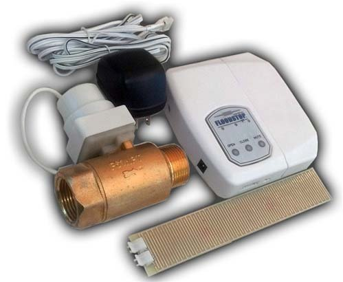 FloodStop Water Heater Auto-Shutoff Valve, FS3/4NPT, V4 Controller, Water Damage Prevention