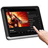 Android Headrest Tablet with WiFi 10.1 inch, Syn Screen IPS Touch Screen, Support YouTube Nexflix, Phone Mirror, Car Back Seat TV Monitor Video Player HDMI Out