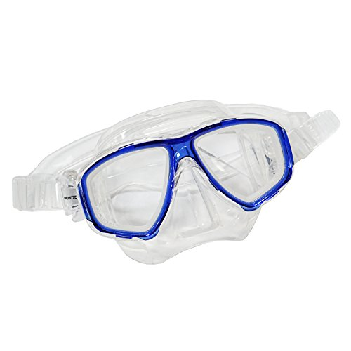 Scuba Choice Blue Diving Prescription Mask