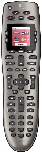 Logitech Harmony 650 Infrared All in One Remote Control, Universal Remote, Programmable Remote (Silver)  Image of 41Ih lhLb6L