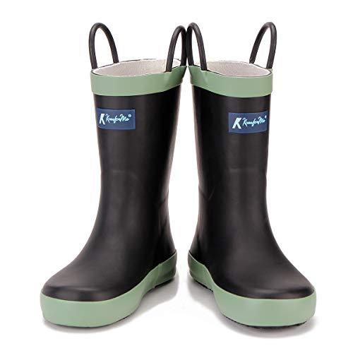 KomForme Kids Rain Boots, Waterproof Rubber Matte...