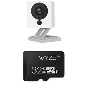 Wyze Cam 1080p HD Indoor Wireless Smart Home Camera with Night Vision, 2-Way Audio (Pack of 2) & SanDisk Ultra 64GB…