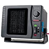 RoadPro RPSL-681 12V Direct Hook-Up Ceramic Heater/Fan with Swivel Base & with Mini Tool Box (cog)