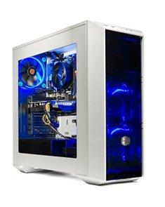 SkyTech Oracle Gaming Computer Desktop PC Ryzen 1200 3.1GHz Quad-Core, GTX 1050TI 4GB, 16GB DDR4 2400, 120GB SSD, 1TB HDD, Wi-Fi USB, Windows 10 Home 64-bit