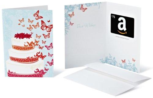Amazon.com $75 Gift Card in a Greeting Card (Wedding Design)