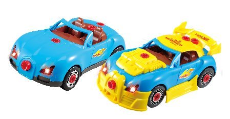 Liberty Imports World Racing Car Take A Part Toy For Kids With