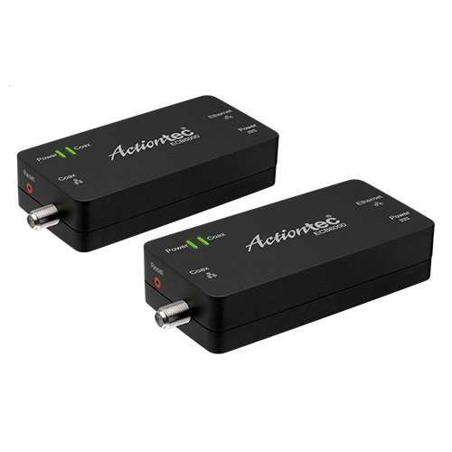 Actiontec MoCA 2.0 Ethernet to Coax Adapter, 2 Pack (ECB6000K02)