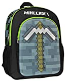 Minecraft Backpack 16' 3D Molded Pickaxe School Bag
