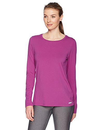 81y3SHkJ UL A subtle logo at the hip accents this sporty top featuring a crewneck and fitted long sleeves Sport made better: we listen to customer feedback and fine-tune every detail to ensure quality, fit, and comfort