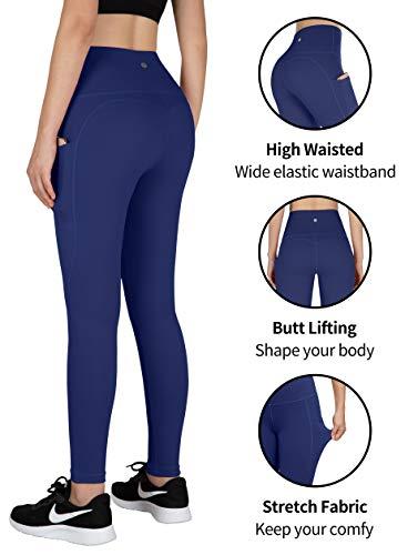 Blue yoga pants for womens