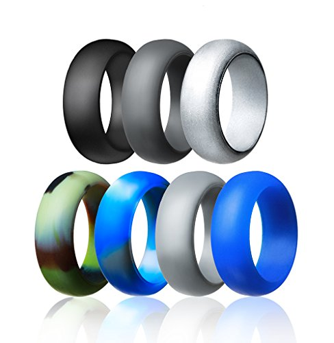 Silicone Wedding Ring For Men By Mounblun Affordable