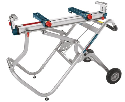 Bosch Portable Gravity-Rise Wheeled Miter Saw Stand