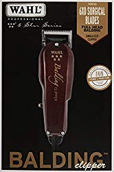 Wahl Professional 5-Star Balding Clipper #8110 – Great for Barbers and Stylists – Cuts Surgically Close for Full Head Balding – Twice the Speed of Pivot Motor Clippers – Accessories Included  Image 1