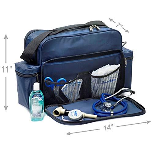 Hopkins Medical Merchandise Unique Residence Well being Shoulder Bag – Navy deal 50% off 41J8 2BV 6Y5L