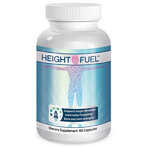 Height Fuel by Success Chemistry - Maximum Strength Height Fuel Enhancement & Powerful Antioxidant - Natural Bone Support & Joint Growth Formulation - Grow Taller Faster