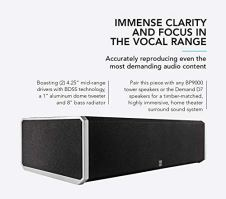 Definitive-Technology-CS-9040-Center-Channel-Speaker-Built-in-8-Bass-Radiator-for-Home-Theater-High-Performance-Premium-Sound-Quality-Single-Black