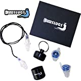 EarSlugs EarPlugs | Newest Extreme dB High Fidelity Protection with Two Complete Earplug Sets and Bonus Accessories | Musicians Festivals Drummers Concerts