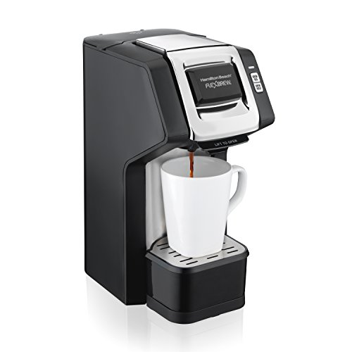Hamilton Beach FlexBrew Single-Serve Coffee Maker for K-Cups and Ground Coffee with Adjustable Brew Strength (49979)