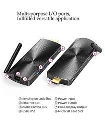 MeLE-Mini-PC-Stick-Windows-10-Pro-8GB-DDR-128GB-eMMC-Intel-Celeron-J4125-Processor-Quad-Core-Fanless-Mini-Computer-4K-HD-BT42-24G50G-Dual-Band-WiFi-USB30-Intel-J41258GB128GBWin10Pro