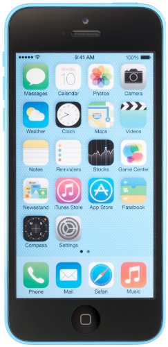 Apple iPhone 5c Unlocked Cellphone, 16GB, Blue