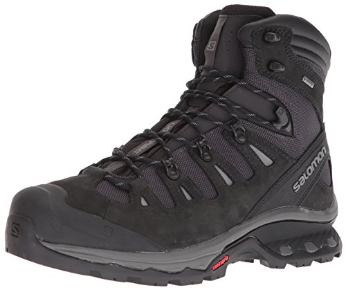 Salomon Men's Quest 4D 3 GTX Backpacking Boots, Phantom/Black, 12.5 M US