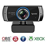 Full HD Webcam 1080P/1536P, Widescreen Video Calling and Recording, Digital Web Camera with Microphone, Stream Cam for PC, Laptops and Desktop (Black)