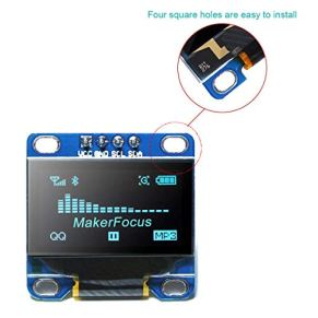 MakerFocus-I2c-OLED-Display-096-Inch-IIC-Serial-LCD-LED-Module-SSD1306-128-64-for-Ar-duino-with-40pcs-Du-pont-Wire-20CM-40-Pin-Female-to-Female