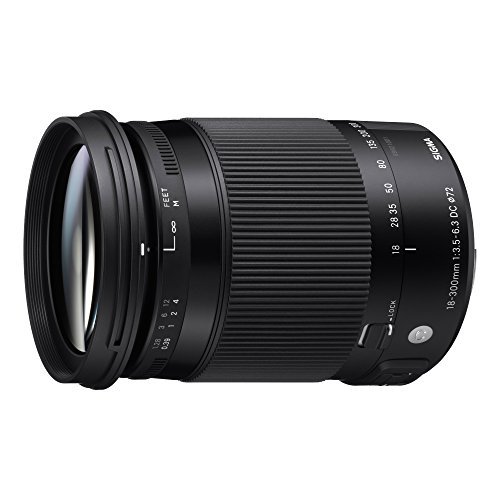 Sigma 18-300mm F3.5-6.3 Contemporary DC Macro OS HSM Lens for Sony