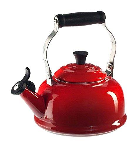 Le Creuset Enamel On Steel Whistling Tea Kettle -Cerise