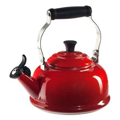 Le Creuset Enamel On Steel Whistling Tea Kettle -Cerise