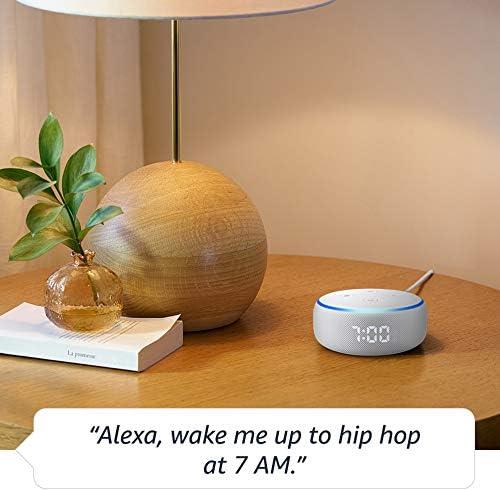Echo Dot (3rd Gen) - Smart speaker with clock and Alexa - Sandstone 5