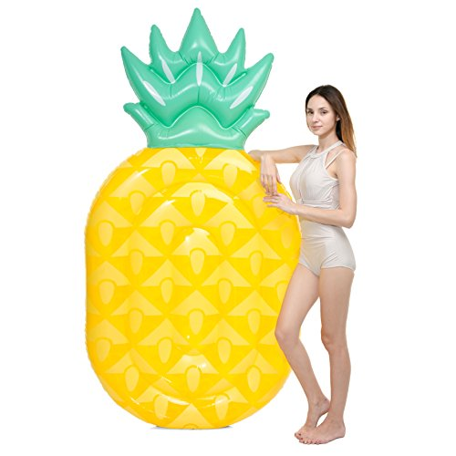 JOYIN Giant Inflatable Pineapple Pool Float