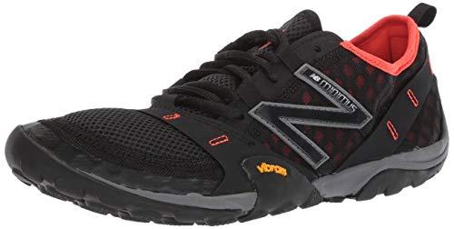 New Balance Men's 10v1 Minimus Trail Running Shoe, Black/Alpha Orange, 10.5 2E US