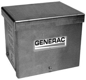 Generac 6342 20-Amp 125/250V Raintight Aluminum Power Inlet Box by Generac