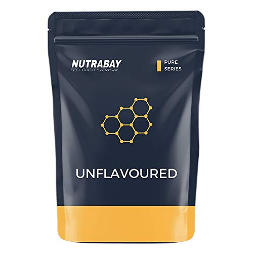 Nutrabay Whey Protein Isolate (Unflavoured) – 500 grams | Raw Whey from USA | 16 servings | Keto friendly