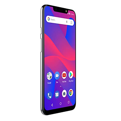 "BLU R2 Plus 2019-6.2"" HD+ Display Smartphone, 16GB+2GB RAM –Silver"