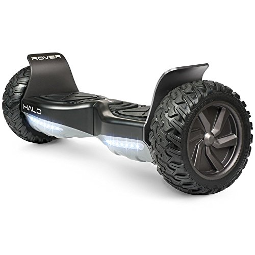 Official Rover Hoverboard - Safety Certified UL 2272 - Bluetooth Speakers - Rover Mobile APP - Free Carry Case - LG FireSafe Battery - 8.5 Inch Non Flat Tires
