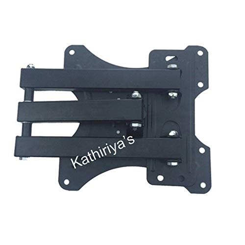 Kathiriyas Kathiriya,s Solid Heavy Metal Wall Mount Stand (Movable) for 17 to 40-inch LCD LED TV with All Screw (Black) 5
