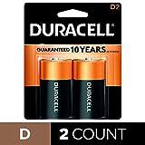 Duracell D Batteries 2 Count